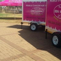 Mobile fridge for hire