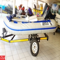 Well Maintained Gemini Rubber Duck with Yamaha Engine