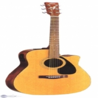 pre owned yamaha fgx412sc Electric Acoustic guitar