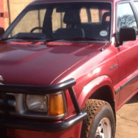 1995 ford courier double cab 4x4
