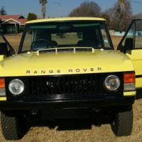 1979 RANGE ROVER 2 Door Classic