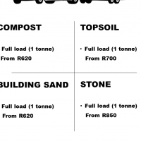 COMPOST, TOPSOIL, BUILDING SAND, STONE ***INCLUDING SATURDAYS***