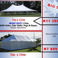 7m x 12m marquee for sale brand new
