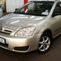 2007 Toyota RunX 140 RT  with 139000km's,Full Service History,Aircon
