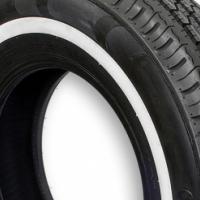 195R14C Wanli White Wall Tyres