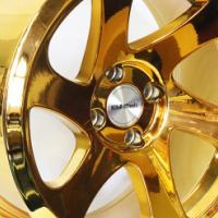 "16"" Evo SDM Gold 4/100 Alloy Wheels"