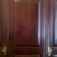 Mahogany 3 PIECE CUPBOARD SET! Its GIVE PRICE!