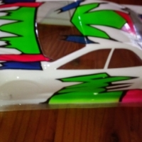 Airbrushing Rc car and Heli bodies