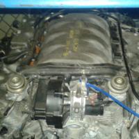 M/BENZ CLK500 W209 113968 ENGINE for sale