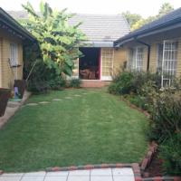 Garden flat in secure area