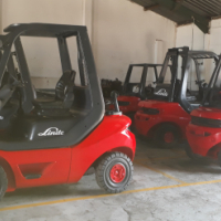 1.6 - 5 TON REFURBISH LINDE FORKLIFTS FOR SALE