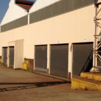 Heavy industrial warehouse with office space for let