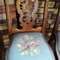 Antique Imbuia Chairs