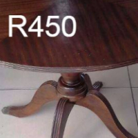 Round Antique Table For Sale