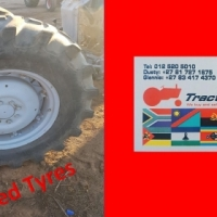Tractor Tyre 16.9-28- Previously owned
