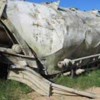 Henred Fruehauf Stripped Cement Tanker Trailer