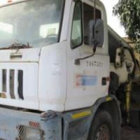 Astra Left Hand Drive Dropside Crane Truck