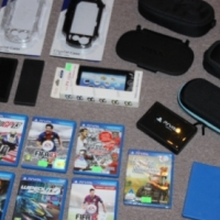 Sony PS Vita games and accessories sold separately,