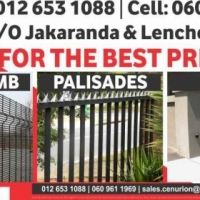 Steel fencing and gates