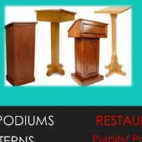 Pulpits/ Podiums For Restaurants & Coffee Shops