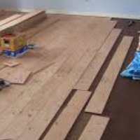 WOODEN FLOORING, TILING AND VANISHING
