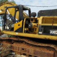 Caterpillar 330D LN, Stripped Excavator