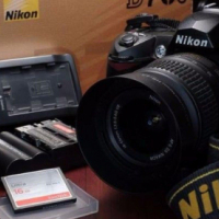 In great condition Nikon D70 S camera with original accessories included in sale...