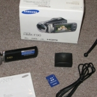 Samsung HMXF90 Video Camera
