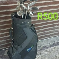 Golf clubs and Bag for sale.