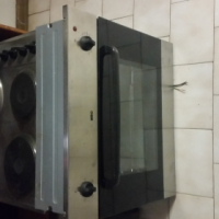 Stainless steel KIC under-counter oven and hob1