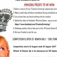 GET EXITED ITS COMPETITION TIME !!!! Cornice Queen Challenge