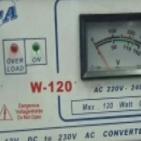 120 Watts Inverter converter.