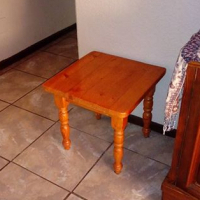 Small wooden side table for sale