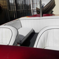 Raven speed boat with 200 V6 Suzuki Engine