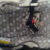 Pram car chair x2 .vibrate fisher price music bouncher