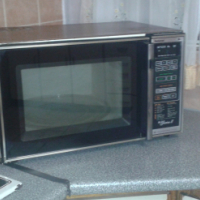 National Panasonic Gemini II model NE 7080 microwave for sale.