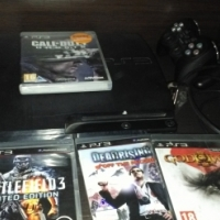ps 3, 6 games and 2 remotes