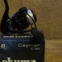 Okuma Ceymar G-30 8ballbearing fd reel