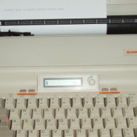 Samsung Electronic Typewriter - SQ 3200 - in excellent working order