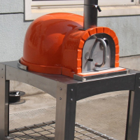 PORTABLE WOOD FIRED / GAS BURNING PIZZA OVEN FOR SALE - OUTDOOR PIZZA OVEN STAND