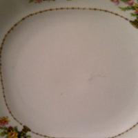 Vintage Square Plate