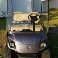 Yamaha 4 seater petrol golf cart