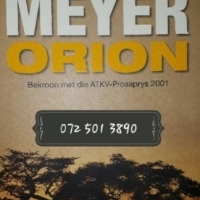 Orion - Deon Meyer.