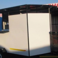 Mobile kitchen trailers for sale.