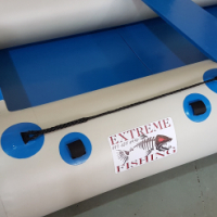 Inflatable rubburduck boat.3.2m New.Fold up