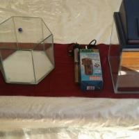 Fish tanks x 3 with accesssories