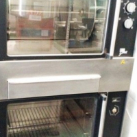 USED FRI-JADO EURO GRILL CHICKEN GRILLER ROTISSERIE 15 BIRD (TG220 EURO GRILL) ELECTRIC 3 PHASE 380V