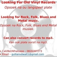 Looking for Your old Vinyl Records