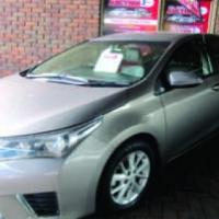 2015 Toyota Corolla 1.6 on auction