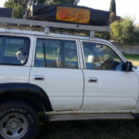 80 Series Toyota Landcruiser with all accesories